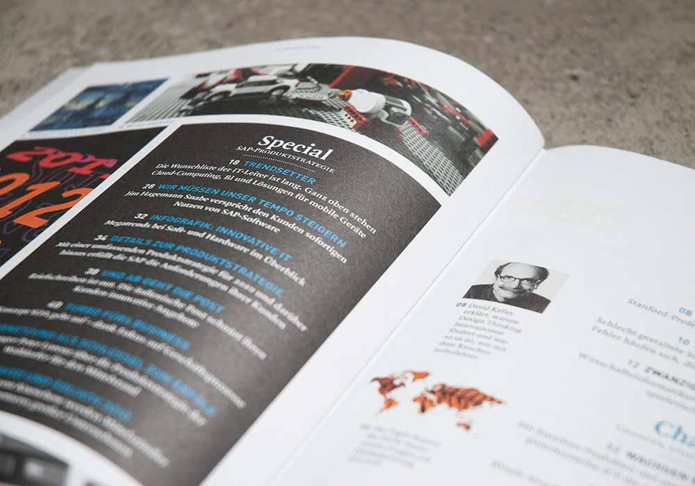 SAP magazines