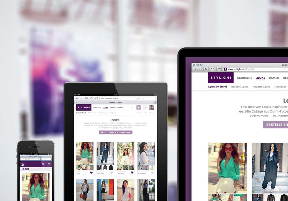Stylight website