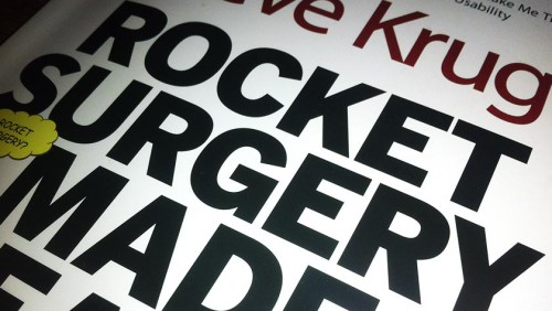 Buchtitel: Rocket Surgery Made Easy - Krug